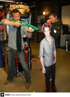 Haha! Boondock Saints - Norman Reedus and Sean Patrick Flanery