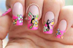 Decoración de uñas mariposas3-3