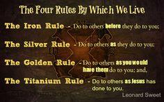 The Titanium Rule
