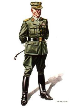 Oficial de la Legión.1950