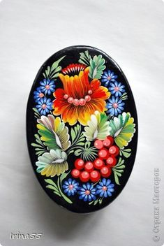 Поделка изделие Папье-маше Рисование и живопись шкатулки Гуашь фото 4