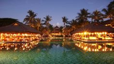 Hotel Intercontinental Bali. The most amazing hotel I have stayed in!!! this is just part of it!