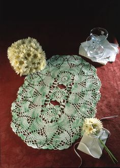 "Lily Pond, part of Crochet World's FREE Doily of the Month. Get the download here: http://www.crochet-world.com/doily.php?id=11  ""Like"" the Crochet World Facebook page so you don't miss a single monthly installment: https://www.facebook.com/CrochetWorldMag"