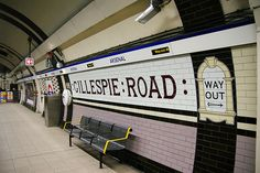 Gillespie Road. | London's 27 Abandoned Tube Stations