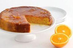 Portakallı turuncu bir tarif, portakallı kek!
