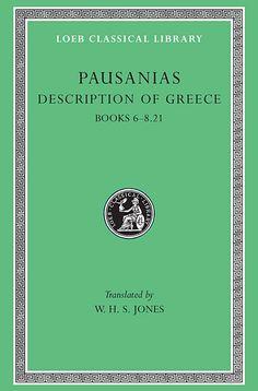 272:Loeb Classical Library 272:  Description of Greece, Volume III — Pausanias | Harvard University Press