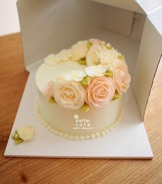 Done by student of Better class (베러 정규클래스/Regular class) www.better-cakes.com…
