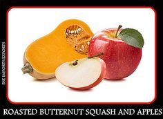 Dr. Sebi Holiday Guide: Thanksgiving Side Dish - Roasted Squash and Apples...