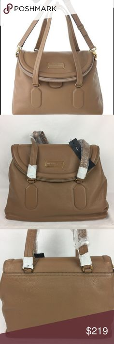 """Marc Jacobs Silicone Valley Satchel Lite Chocolate Marc Jacobs Silicone Valley Satchel in Lite Chocolate New With Tags  Carry your belongings with ease in the Silicone Valley Satchel bag from Marc By Marc Jacobs. Made of quality Leather materials, this will keep your essentials on-hand with great style.  NEW, WITH TAGS  Zipper Closure Two Rolled Handles Leather Adjustable Strap Measurements: 10""""H x 13.75""""L x 6.25""""D Marc by Marc Jacobs Bags Satchels"""