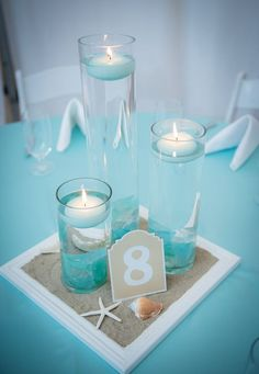 Simple and beautiful nautical wedding decor ideas ★ More information: www. Simple and beautiful nautical wedding decor ideas ★ More information: www. , Simple And Beautiful Nautical Wedding Decor Ideas ★ See . Beach Wedding Centerpieces, Beach Wedding Reception, Beach Wedding Favors, Wedding Table, Beach Themed Weddings, Spring Wedding, Beach Theme Wedding Dresses, Bat Mitzvah Centerpieces, Vintage Beach Weddings