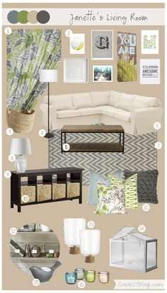 Mood Board: Janette's Living Space