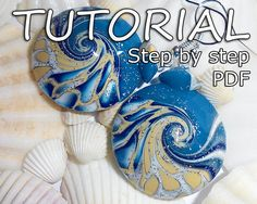 Tutorial, how to make earrings out of polymer clay. Step by step. 1 PDF file. 134 photos. Videos most difficult moment :) Detailed description. English language. These earrings are a wonderful gift. They are very beautiful shine in the sun! Earrings out very light. Approximate weight: 0,88 oz (25 grams) Size earrings: 1.14 inches (2.9 cm) I hope you will enjoy! Other tutorials that I have done: https://www.etsy.com/listing/468137340/pendant-tutorial-jewelry-tutoria...