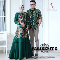 Muslim Fashion, Hijab Fashion, Fashion Dresses, Batik Muslim, Dress Batik Kombinasi, Batik Blazer, Dress Brokat, Mode Abaya, Batik Fashion