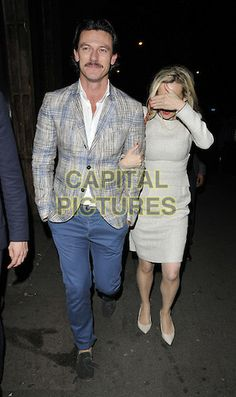 Luke Evans - Nick Grimshaw celebrates his birthday with friends at Shoreditch House - London, United Kingdom - Friday 15th August 2014