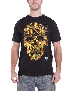 Girlie : Negan Playing Card Walking Dead Damen T-Shirt schwarz