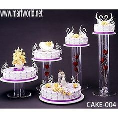 Looking for acrylic wedding cake stand ? Here you can find the latest products in different kinds of acrylic wedding cake stand. We Provide 20 for you about acrylic wedding cake stand- page 1 5 Tier Wedding Cakes, Wedding Cake Display, Cake Stand Display, Wedding Cake Stands, Wedding Cupcakes, Display Case, Display Ideas, Plastic Cake Stands, Cake Toppers