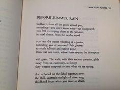 Rainer Maria Rilke, translated by Stephen Mitchell