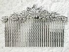 CLEAR BIG HAIR COMB $14.50 FOR BRIDAL BRIDESMAID WEDDING PARTY PROM L94 For More Info Please Go To: http://www.durhamplace.com/wedding-bridesmaid/#