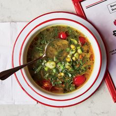 Get the recipe for Summer Vegetable Soup from Food & Wine.