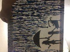 Crayon art piece 1 of 2