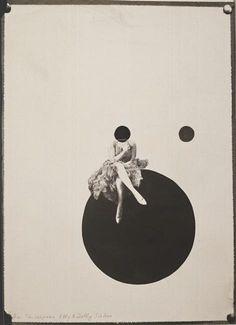 Laszlo Moholy-Nagy ~Das Tanzerpaar Olly & Dolly sisters ,1925