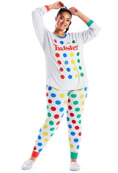 Image for P.A. Plus Twister Pj Set from Peter Alexander