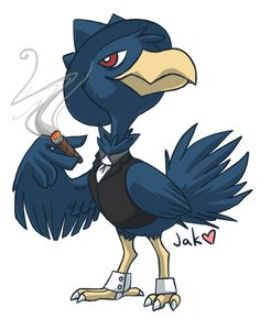 Gallery For > Murkrow Flying