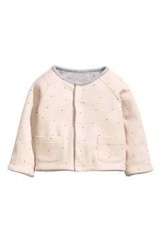 Obojstranný džersejový sveter | H&M