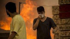 Veel bosbranden in Chili, Buitenlandse Zaken raad reizen naar daar af... 30/1 18:40
