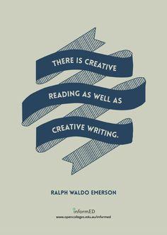 Creative reading.