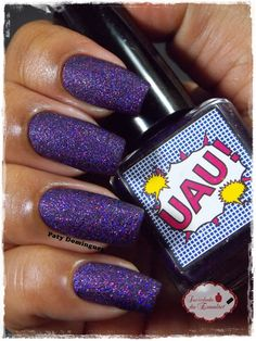 UAU! - DRK Nails #esmaltadasdapatydomingues #liquidsand  #drknails