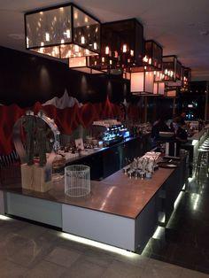 Cocktail bar at the W Chalet Girl, Secret Crush, Girls Series, Lorraine, Cocktails, Bar, Craft Cocktails, Secret Love, Cocktail