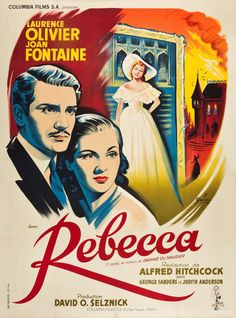 Rebecca, 1940.....one of the greatest movies ever!