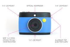 #Otto la cámara de GIFs que los envía a tu smartphone para compartirlos  - #gadget