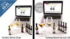 Personalized wine club with a starting kit of $10. Interesting!