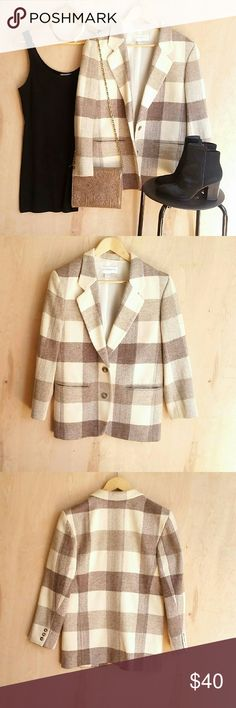 Herringbone Gingham Blouse 48