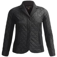KJUS Quilted Blazer Jacket - Insulated (For Women) in Black Color Trends  2018 55aae075d
