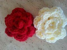 Helenmay Crochet Quick and Easy Beginner Rose DIY Tutorial