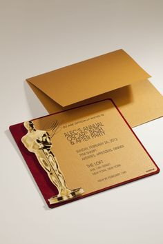 envelopments invitations for academy awards | Oscars, Envelopes, Academy awards