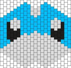 Dratini Kandi Mask Bead Pattern