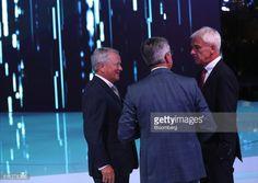 Wolfgang Porsche, chairman of Porsche SE, left, reacts as he... #bergbyse: Wolfgang Porsche, chairman of Porsche SE, left,… #bergbyse