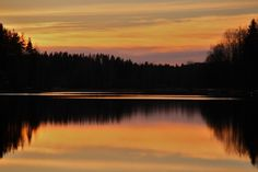 'The thursday evening sunset.' by irio Evening Sunset, Thursday, River, Celestial, Outdoor, Outdoors, Outdoor Living, Garden, Rivers
