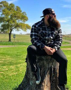 for men who love long bearded men Badass Beard, Epic Beard, Full Beard, Long Beard Styles, Hair And Beard Styles, Great Beards, Awesome Beards, Crew Cut Hair, Hipster Haircut