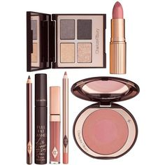 Charlotte Tilbury The Uptown Girl Gift Set ($210) ❤ liked on Polyvore featuring beauty products, gift sets & kits and charlotte tilbury
