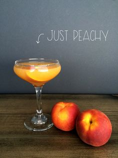 Just Peachy #Cocktail   Red Autumn blog
