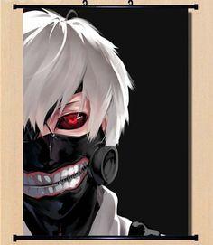 Hot Japan Anime Cosplay Tokyo Ghoul Ken Home Decor Wall Scroll 2130Cm 005