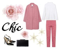 """Chic"" by marciabackermendes ❤ liked on Polyvore featuring MANGO, Alexander White and Bottega Veneta"