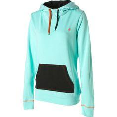 volcom women's sweatshirts | Volcom Piping Pullover Hooded Sweatshirt - Women'S - Snowboard Buyers ...