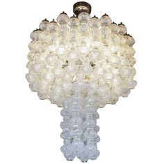 1950's Italian Murano Chandelier | From a unique collection of antique and modern chandeliers and pendants  at http://www.1stdibs.com/furniture/lighting/chandeliers-pendant-lights/