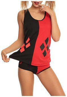 Harley Quinn Underoos Juniors Pajama Set